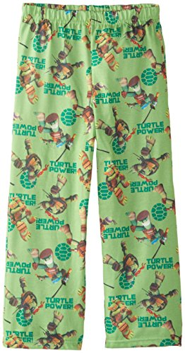 Teenage Mutant Ninja Turtles Little Boys' Turtle Power Pajama Pant, Multi, Small - 1
