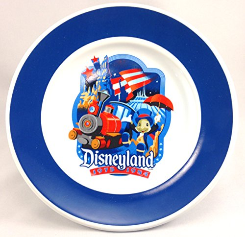 Disneyland 60th Diamond Celebration 1975-1984 Disney Decades Commemorative Plate