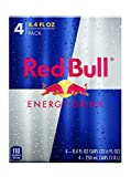 Red Bull Energy Drink, 8.4 oz Cans , 4 Count (Pack of 6)