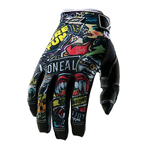 0385JC-132 - Oneal Jump Crank Motocross Gloves XXL (12) Black/Multi