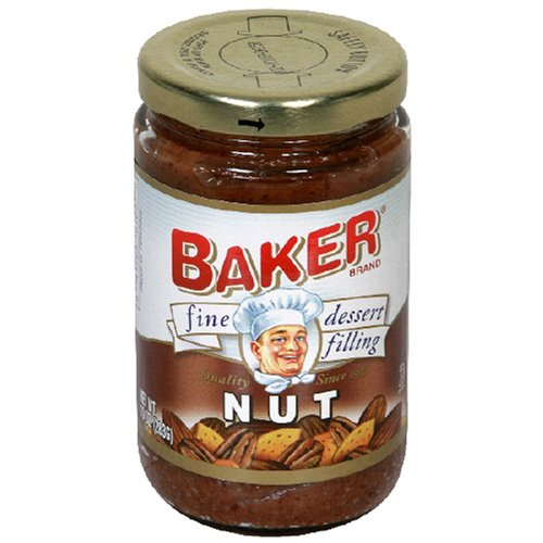 Buy Baker Fine Dessert Filling, Nut, 10-Ounce Jars (Pack of 8) (Bakers, Health & Personal Care, Products, Food & Snacks, Baking Supplies, Pie & Cobbler Fillings)