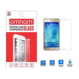 Omnam 2.5D Curved Edge Tempered Glass Screen Protector for Samsung Galaxy On5