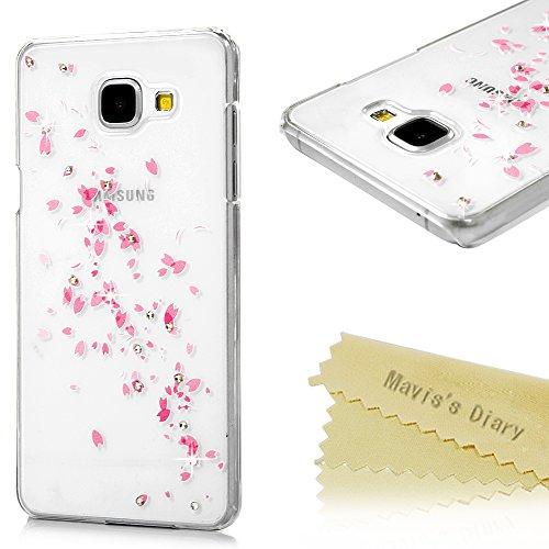 a5-case-galaxy-a5-cover-2016-model-maviss-diary-3d-handmade-bling-crystal-diamond-pink-flower-leaves
