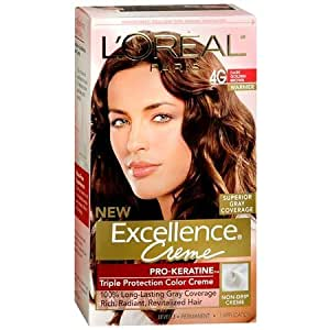 l oreal excellence creme pro keratine protection color 6rb light reddish brown ebay l oreal excellence creme pro keratine protection color creme 4g golden