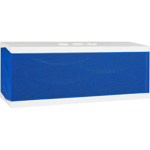 Jawbone - Jambox Bluetooth Speaker Special Edition White-Blue