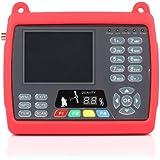 SATlink WS-6950 DVB-S localizador de Satélites Digital medidor de policarbonato y, con 8,89 cm con pantalla TFT LCD de pantalla