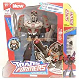 Transformers ANIMATED Leader Class MEGATRON with FREE STARSCREAM