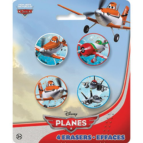 Disney Planes Shaped Erasers - Party Favors - 1 per Pack - 1