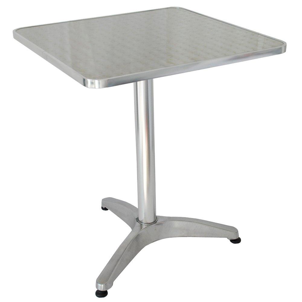 Systafex ® Gartentisch Bistro – Tisch Bistrotisch Balkontisch aus Alu Gartenmöbel / Balkonmöbel Tisch rostfrei günstig