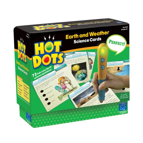 Educational Insights Hot Dots Science Set Earth & Weather - 1