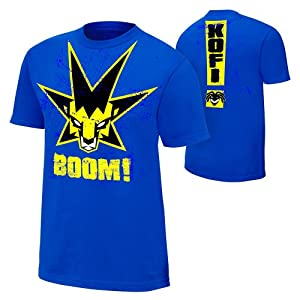 Kofi Kingston King of the Boom Youth Authentic T-Shirt