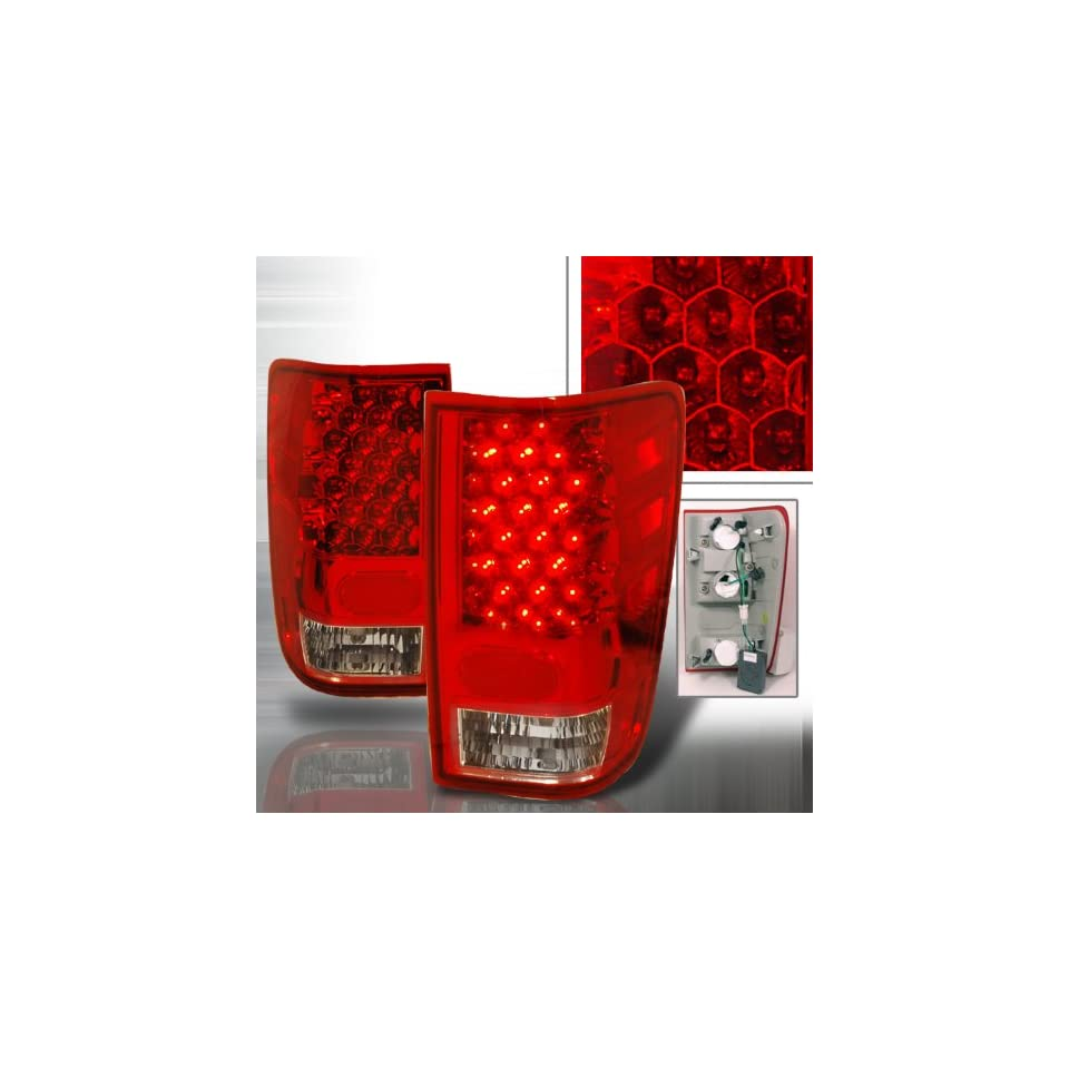 NISSAN TITAN LED TAIL LIGHTS RED