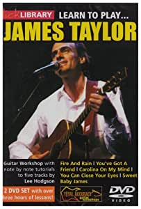 Learn to play James Taylor [2 DVDs]