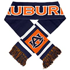 Buy NCAA Auburn Tigers 2012 Team Stripe Scarf by Forever Collectibles