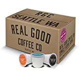 Real Good Coffee Co Recyclable K Cups, Variety Pack, For Keurig K-Cup Brewers, 36 Single Serve Coffees