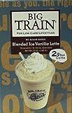 51%2BBu0%2BC8YL. SL160  Big Train Low Carb Blended Ice Vanilla Latte Mix Single Serve Packets