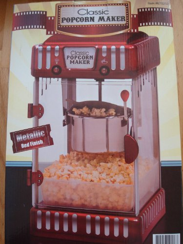 Classic Popcorn Maker Maxi-Matic Epm-275M