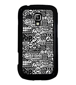 ifasho Designer Phone Back Case Cover Samsung Galaxy S Duos S7562 ( DJ Rap Musical Guitar Instrument Music is my Love )
