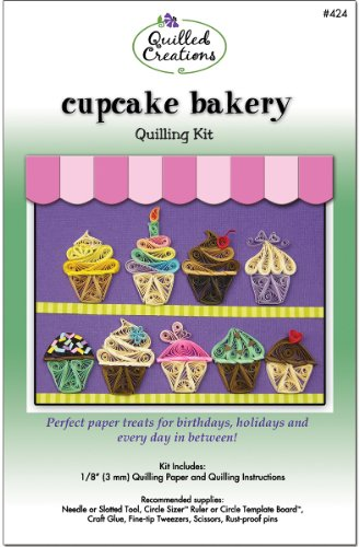 Quilling Kit - Cupcake Bakery 1 pcs sku# 1042393MA (Quilling Kits Cupcake Bakery compare prices)