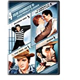 4 Film Favorites: Elvis Presley Classics (Charro, It Happened at the World's Fair, Jailhouse Rock: Deluxe Edition... by Warner Home Video