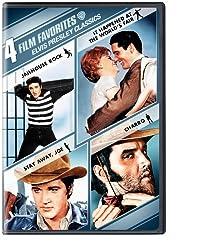 4 Film Favorites: Elvis Presley Classics (Jailhouse Rock / It Happened at the World's Fair / Stay Away, Joe / Charro)