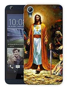 """Humor Gang Jesus Christ - God Printed Designer Mobile Back Cover For """"HTC DESIRE 626"""" (3D, Matte, Premium Quality Snap On Case)"""
