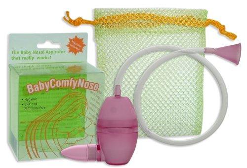 Baby Comfynose Nasal Aspirator, Magenta Color: Magenta Newborn, Kid, Child, Childern, Infant, Baby front-536305