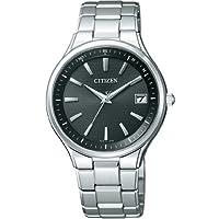 [シチズン]CITIZEN 腕時計 Eco-Drive エコ・ドライブ 電波時計 チタンドレスペア AS7050-55E メンズ
