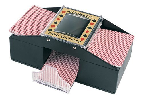 Find Cheap Da Vinci Wood Grain Deluxe 1 to 2 Deck Automatic Playing Card Shuffler
