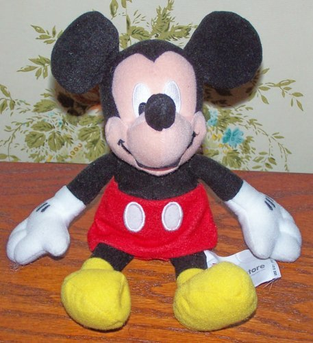 "Mini Bean Bag 2001 Mickey 8"""