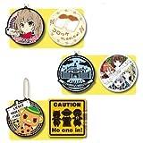 Most lottery Amagi Brilliant Park D Award with sticker rubber coaster all three