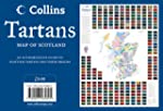 Tartans Wall Map of Scotland (Collins...