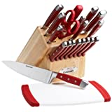 Cuisinart 21-Piece Knife Set with Block and Bonus Poly Cutting Board ~ Cuisinart