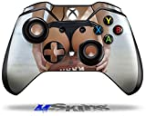 Kayla DeLancey Black Bikini and Football 6 - Decal Style Skin fits Microsoft XBOX One Wireless Controller (CONTROLLER SOLD SEPARATELY)