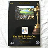 The 1993 Ryder Cup, Official Programme Johnnie Walker