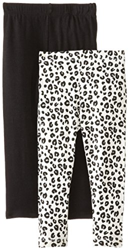 Freestyle Revolution Little Girls' Animal Print 2 Piece Pack Legging Set, Multi, 6 front-185161