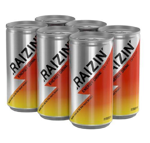 RAIZIN(ライジン) 6Rise↑スマートバック 185ml×6本