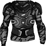 Leatt Adventure Adult Roost Deflector MotoX/Off-Road/Dirt Bike Motorcycle Body Armor - Black / Large/X-Large