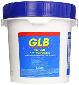 Glb 71256a 1 Inch Chlorine Sanitizing Tablets 8 Pound Small Swimming Pool