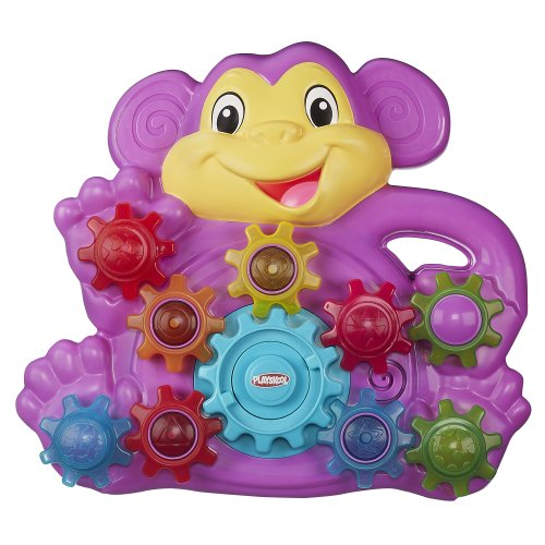 Playskool Stack n Spin Monkey Gears - 1