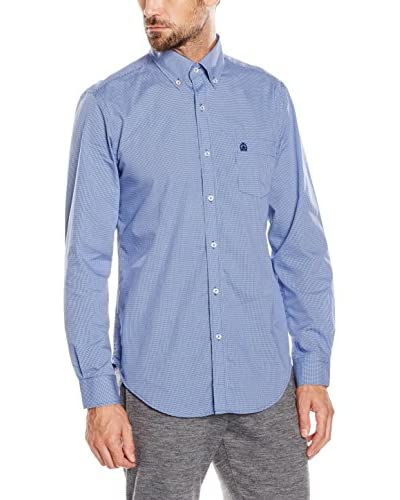 Cortefiel Hemd blau