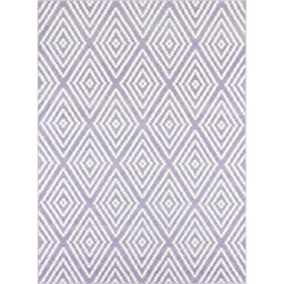 Diamond Level Cut and Loop Tufted Rug Collection, 3\'4\