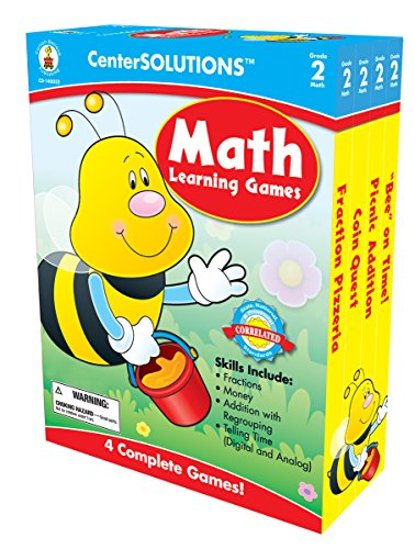 Carson-Dellosa Publishing Math Learning Games (Math Learning Centers compare prices)
