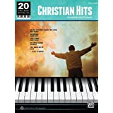 20 Sheet Music Bestsellers: Christian Hits - Easy Piano Collection Book