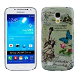 Hard case City design (New York) for Samsung Galaxy S4 Mini i9190 / i9195 in White - from kwmobile