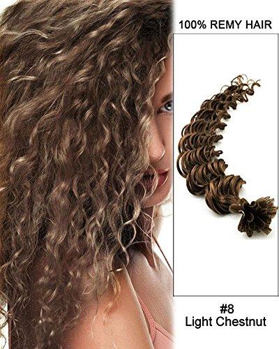 Extension cheveux naturel chatain clair