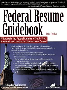 federal resume guidebook write a winning federal resume