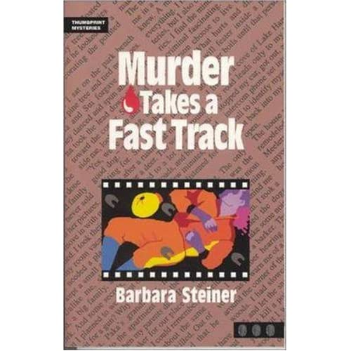 Murder Takes a Fast Track (Thumbprint Mysteries Series)