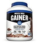 Muscle Milk Gainer Protein Powder, Chocolate, 32g Protein, 5 Pound