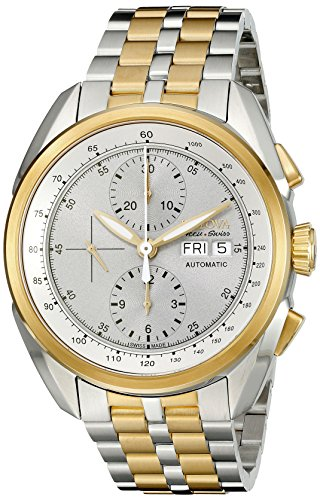 Bulova-Mens-65C117-Analog-Display-Automatic-Self-Wind-Two-Tone-Watch